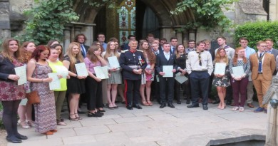 Lord Lieutenant with DOFE Gold Award Winners