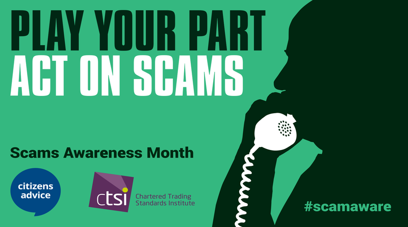 Scams Awareness Image