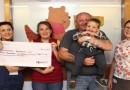 Skydiving feat lands money for neonatal unit