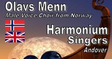 OLAVS MENN with the HARMONIUM SINGERS