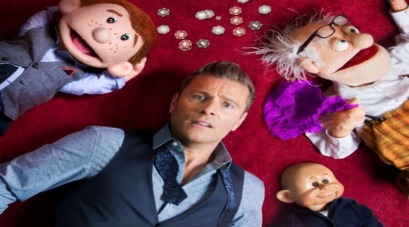Paul Zerdin at The Lights