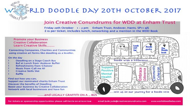 World Doodle day in support of Enham Trust