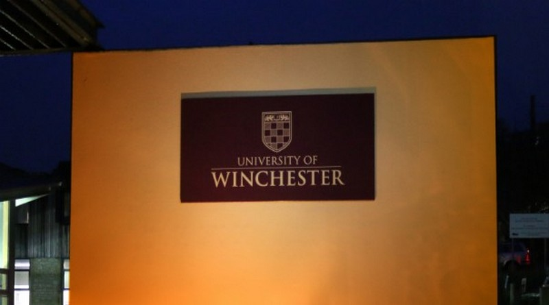 University of Winchester shines an orange light for optimism