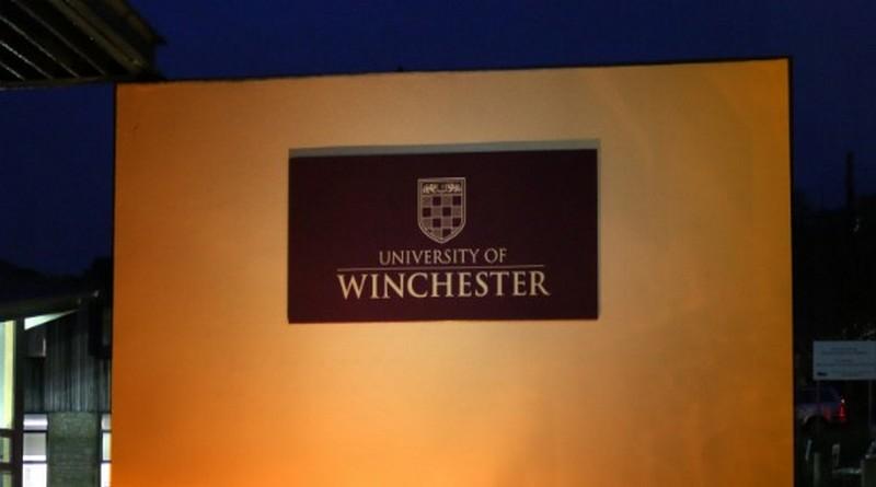 University of Winchester shines an orange light for optimism