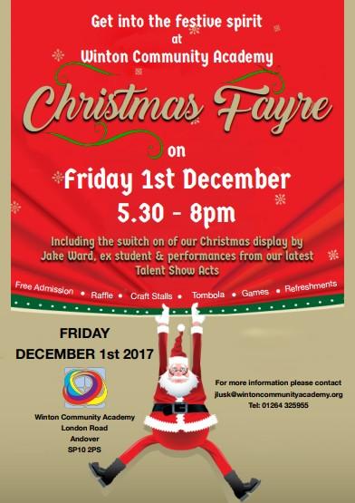 Christmas Fayre Winton Community Academy