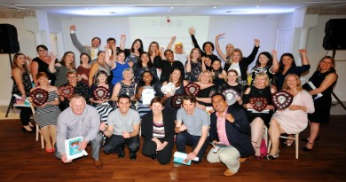 The winners of the Director of Nursing Awards 2017