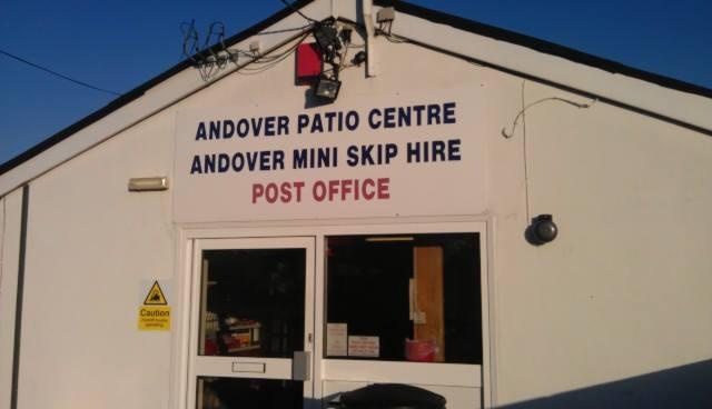 ANDOVER PATIO CENTRE Incorporating ANDOVER MINI SKIP HIRE