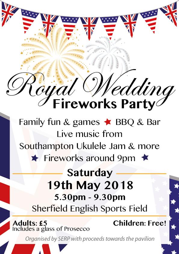Royal Wedding Firework Party