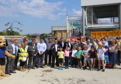 Andover Leisure Topping Out Ceremony