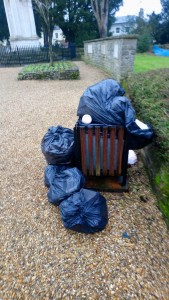 St Mary's Churchyard Fly-tipping