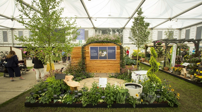 The Force for Good RHS Chelsea Garden by Sparsholt College