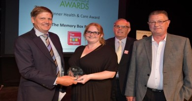 The Memory Box Project wins local award