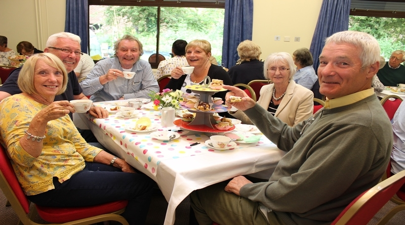 Volunteers raise a cuppa in Andover
