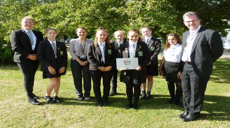 Harrow Way Community School BIG anti-bullying award
