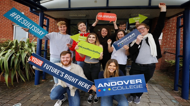 A Level Group Shot, Andover College