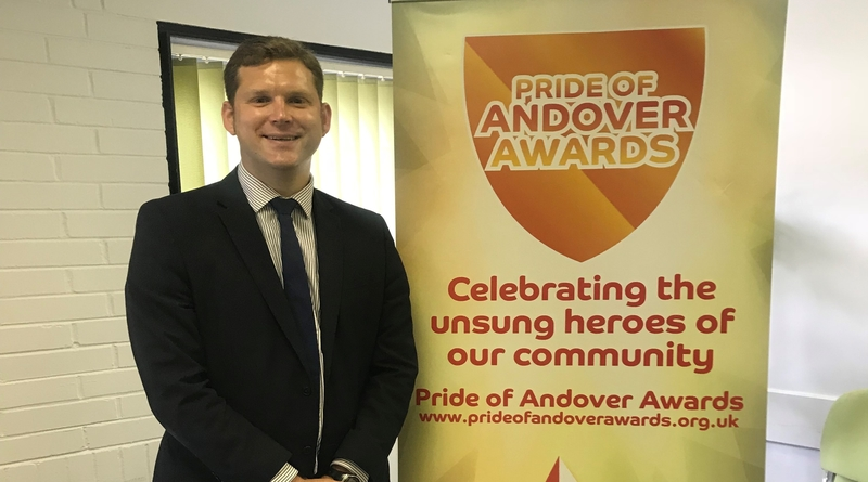 Cllr Phil North at Pride of Andover Launch
