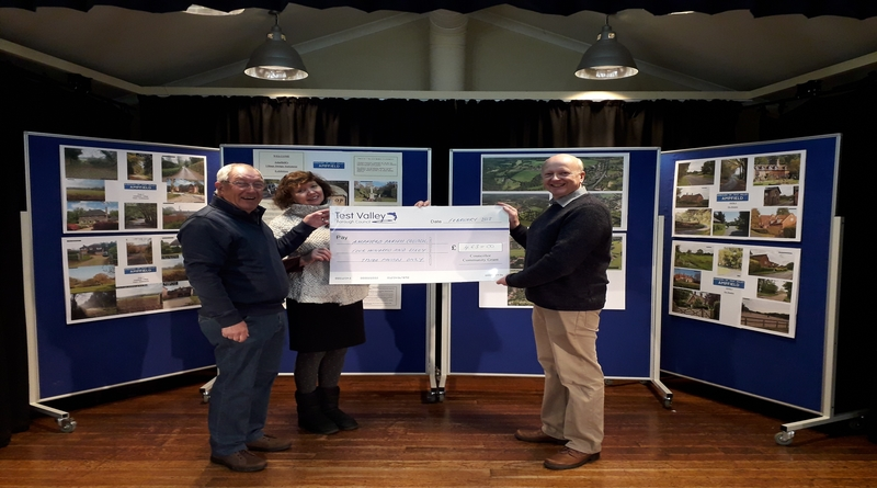 Ampfield Parish Council Councillor Community Grant for aerial photography