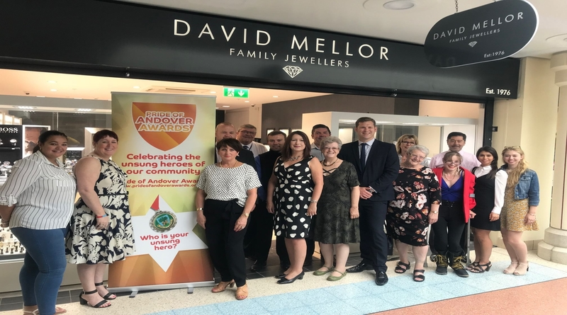 Pride of Andover Awards Launch 2018