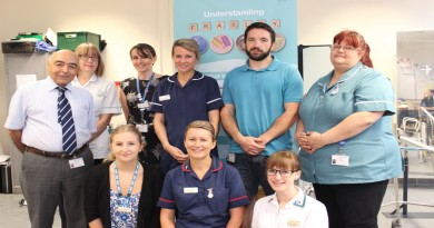 HSJ nominees, the frailty team
