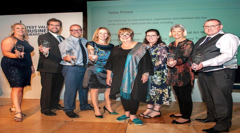 TVBAwards2018 Winners with Dame Jenni Murray