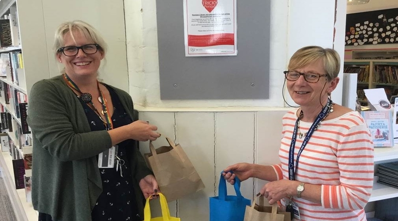 Tackling period poverty at Romsey Library