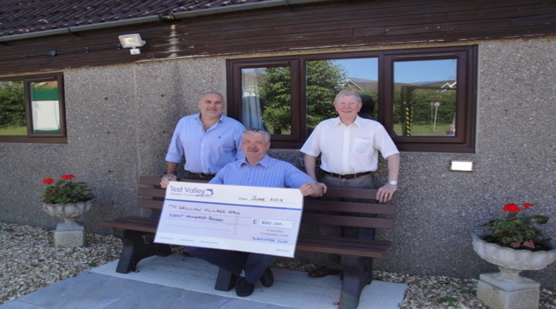 Bench boost for Wellow Village Hall