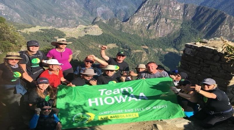 HIOWAA Heroes conquer Machu Picchu and raise £50,000!
