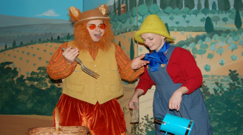 Interactive theatre with Pinocchio