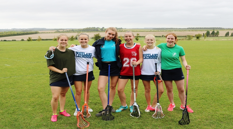 St Swithuns international lacrosse girls