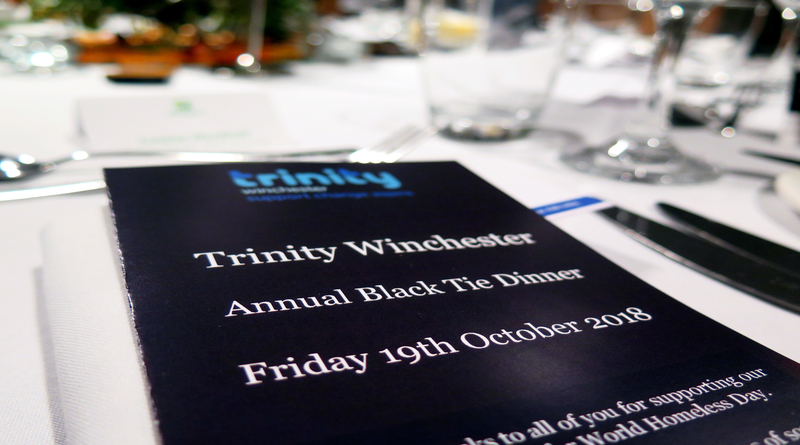 Trinity Winchester Annual Black-Tie Dinner raises over £19K