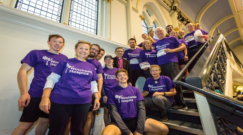Winchester Hospice supporters, Bishop Tim