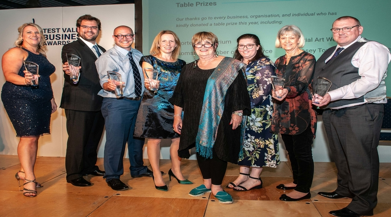 Winners of the Test Valley Business Awards 2018