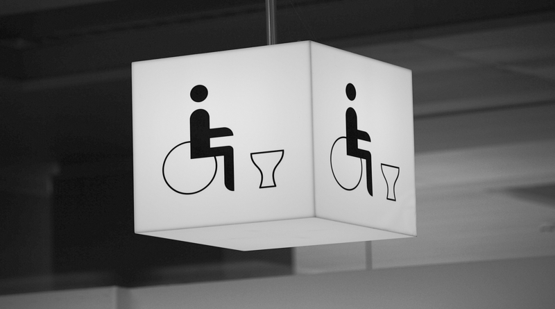Disabled WC, Andover Changing Places