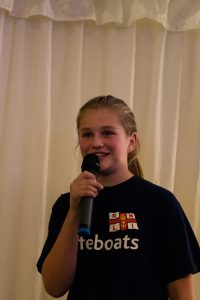 Eleanor delivers passionate plea fundraise for an RNLI lifeboat in memory of her Mother