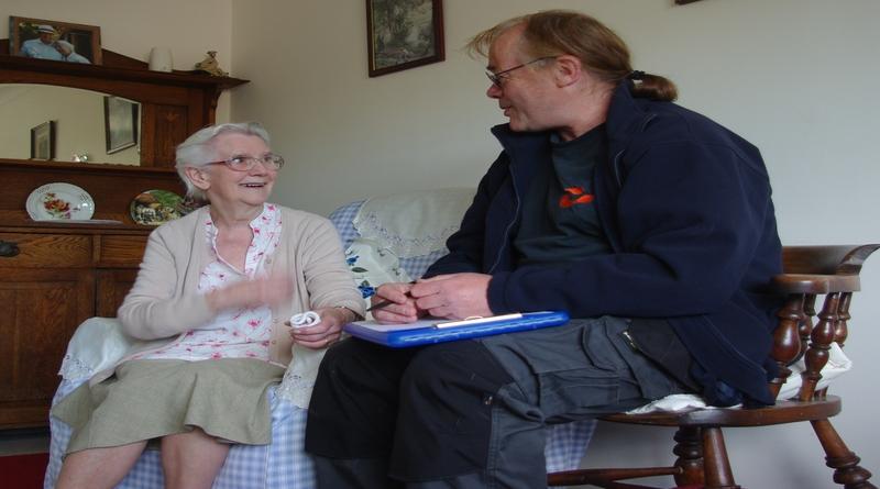 HIWCF.Home Visit with Ray Harrington-Vail