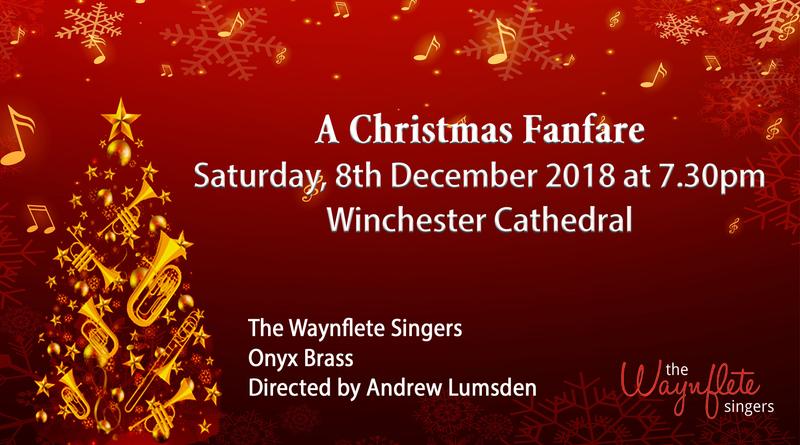 Waynflete Singers Christmas Fanfare