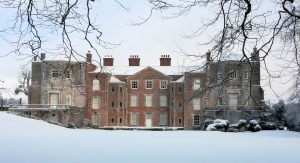 Mottisfont - house in snow, National Trust Images
