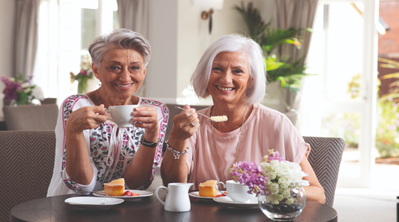 Coffee Morning for local charity at Andover retirement development