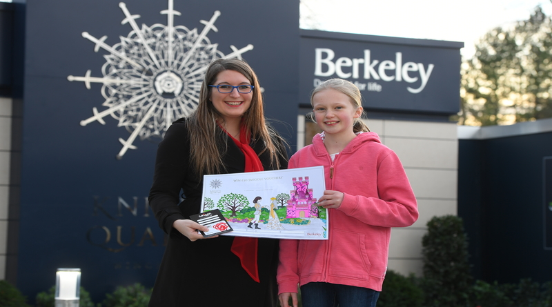 Princess and her Knight design wins Berkeley Homes colouring competition