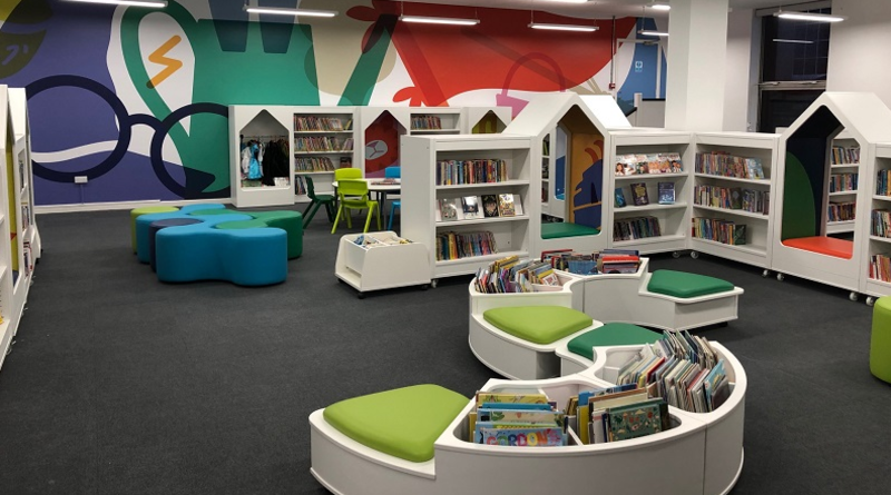 Brand new look for Andover Library