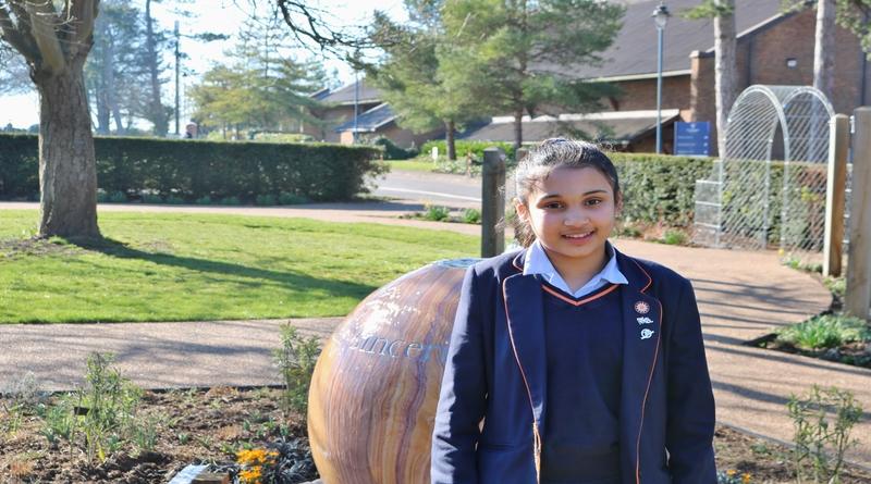 13 year old St Swithun's student Ishal Mahmud