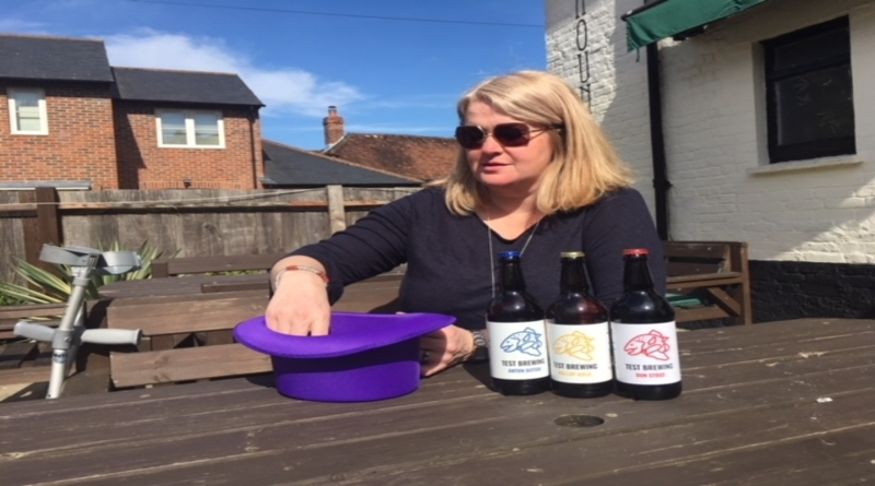 Beth Deacon of Test Brewing selects TVBAwards2019 first entry prize winner