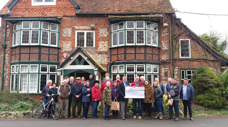 Community ploughs ahead with council grant