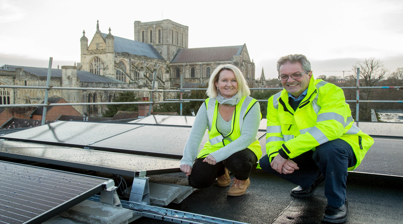Council on track to reduce its carbon emissions by more than 20 per cent by 2020