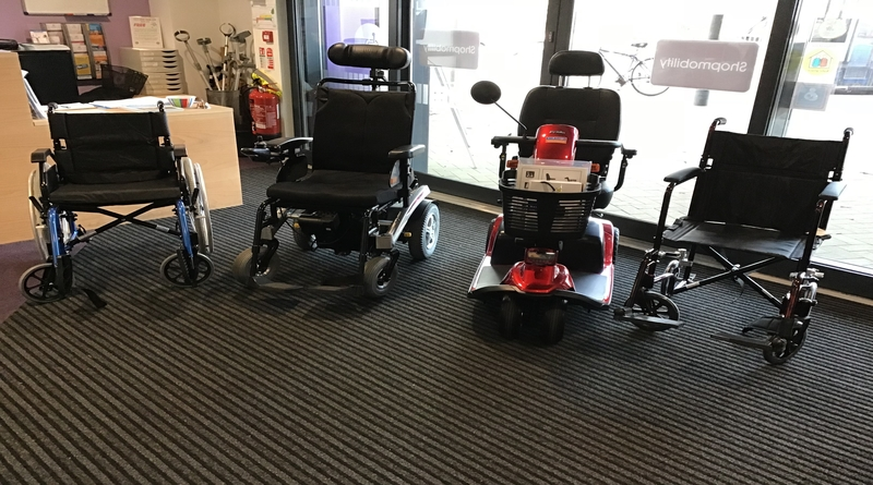 Donations Purchase Equipment for the Mobility Service
