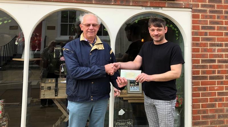 Fox Finds in Romsey awarded £1000 grant