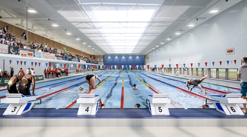 Off the Starting Blocks Winchester's new Sport and Leisure Centre given final go ahead