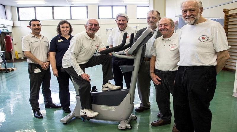 Pedalling for health – Cardiac rehab group's donation to hospital