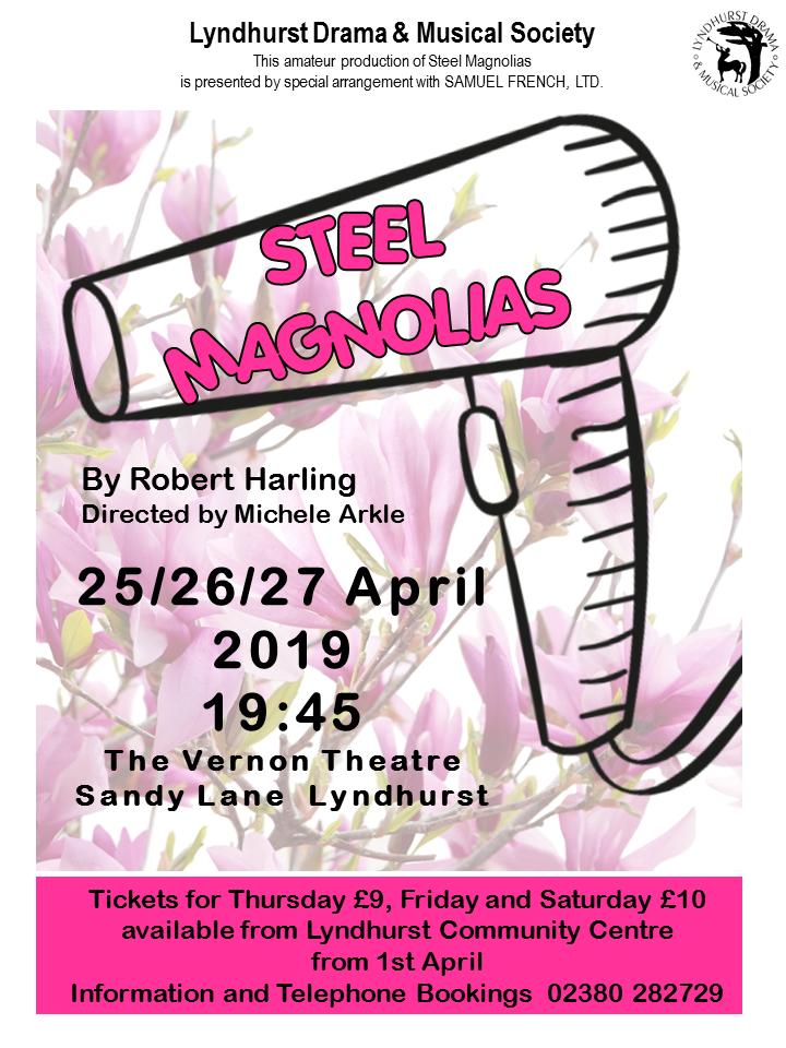 Steel Magnolias – Lyndhurst Drama & Musical Society