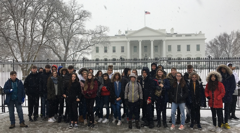 Test Valley School Pupil writes about a recent student trip to New York and Washington